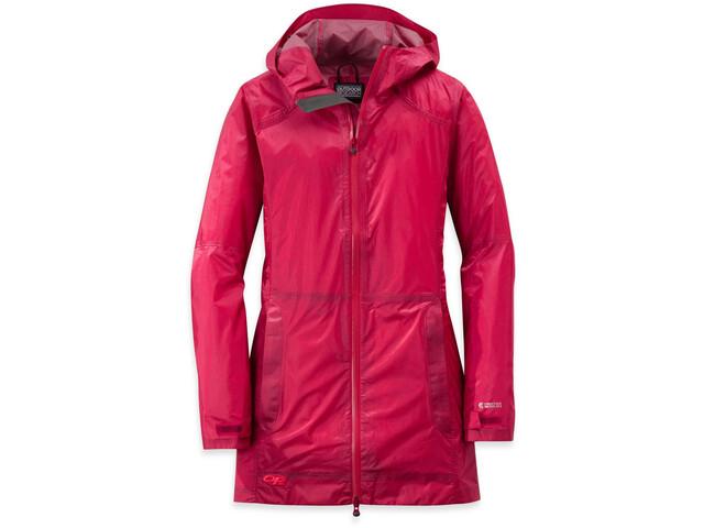 90fd32da Outdoor Research W's Helium Traveler Jacket scarlet   Gode tilbud ...